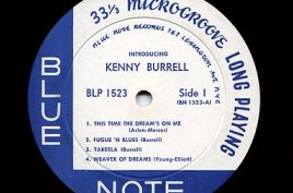 Blue Note vinyl LP from 1956