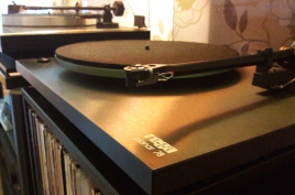 Two of our Vinyl Transfer Tables: Linn Axis & Rega Planar 78